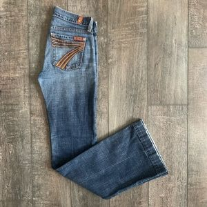 7 For All Mankind DOJO Bootcut/Flare Jeans